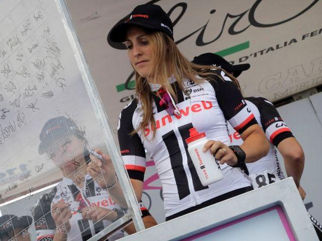 (Giro) Team Sunweb grijpt nipt naast eerste etappezege