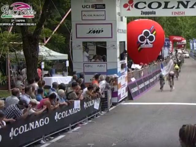 (Giro) Samenvatting 2e rit Italiaanse TV
