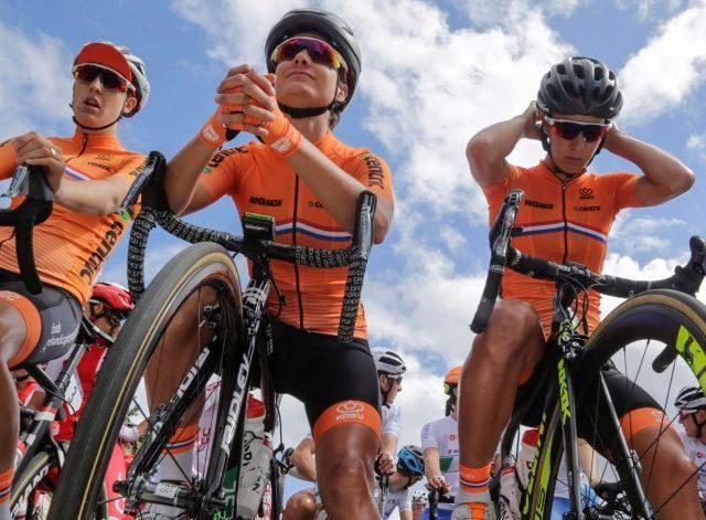 Lucinda niet top bij EK op de weg; goud Marianne Vos