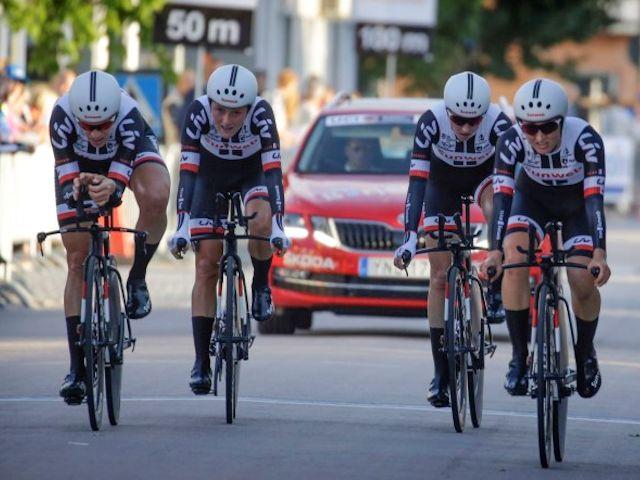 Team Sunweb goed in Zweedse ploegentijdrit