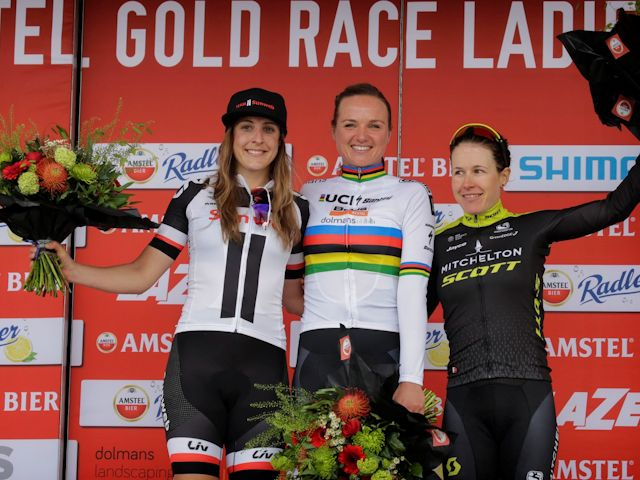 Lucinda keurig tweede in Amstel Gold Race